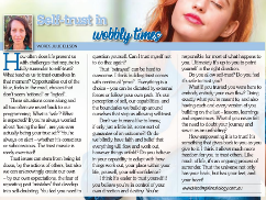Healing Kinesiology article in Holistic Bliss Magazine, Nov 2020